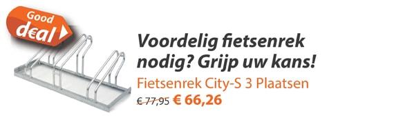 Fietsenrek City/S 3 Plaatsen